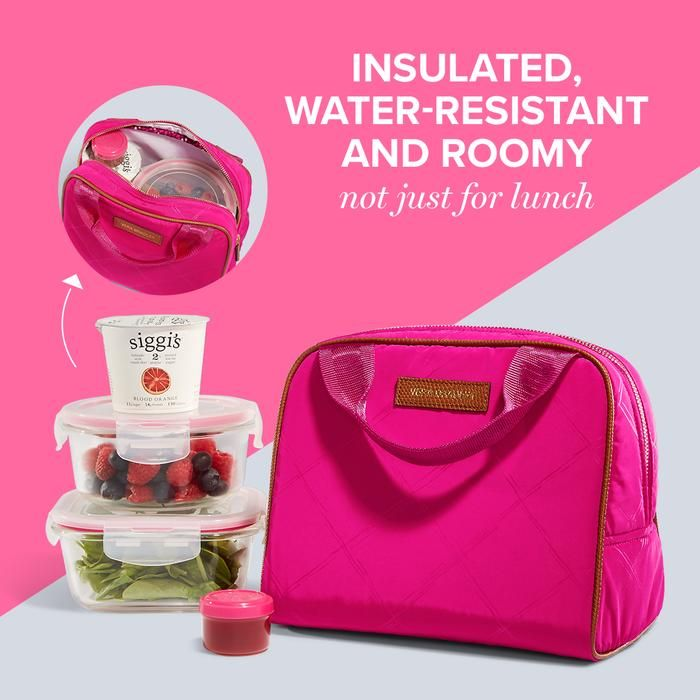 Upgrade your lunch bag to something functional, spacious and eye-catching. Shop the Lunch Cooler Bag.