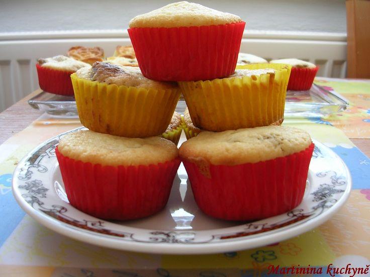 Krupicové muffinky s citronem