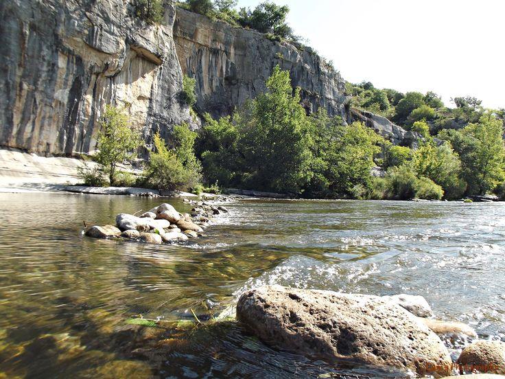 Gorges du Chassezac à Casteljau en Ardèche