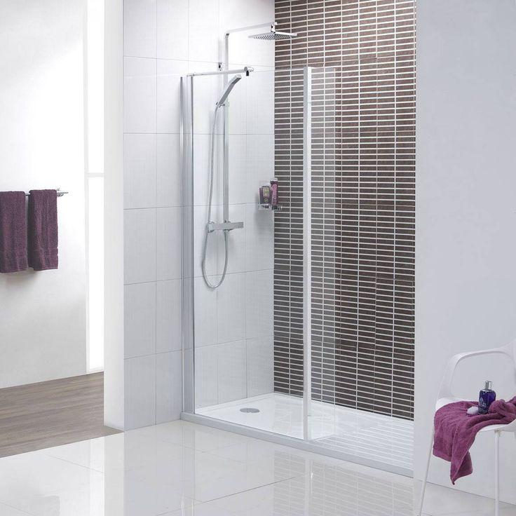 Basement Wall Ideas: V8+ Minimalist Walk In Recess Shower Pack 1400 X 900