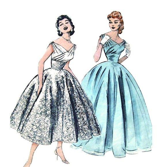 156 best Vintage Sewing Patterns images on Pinterest   Short wedding ...
