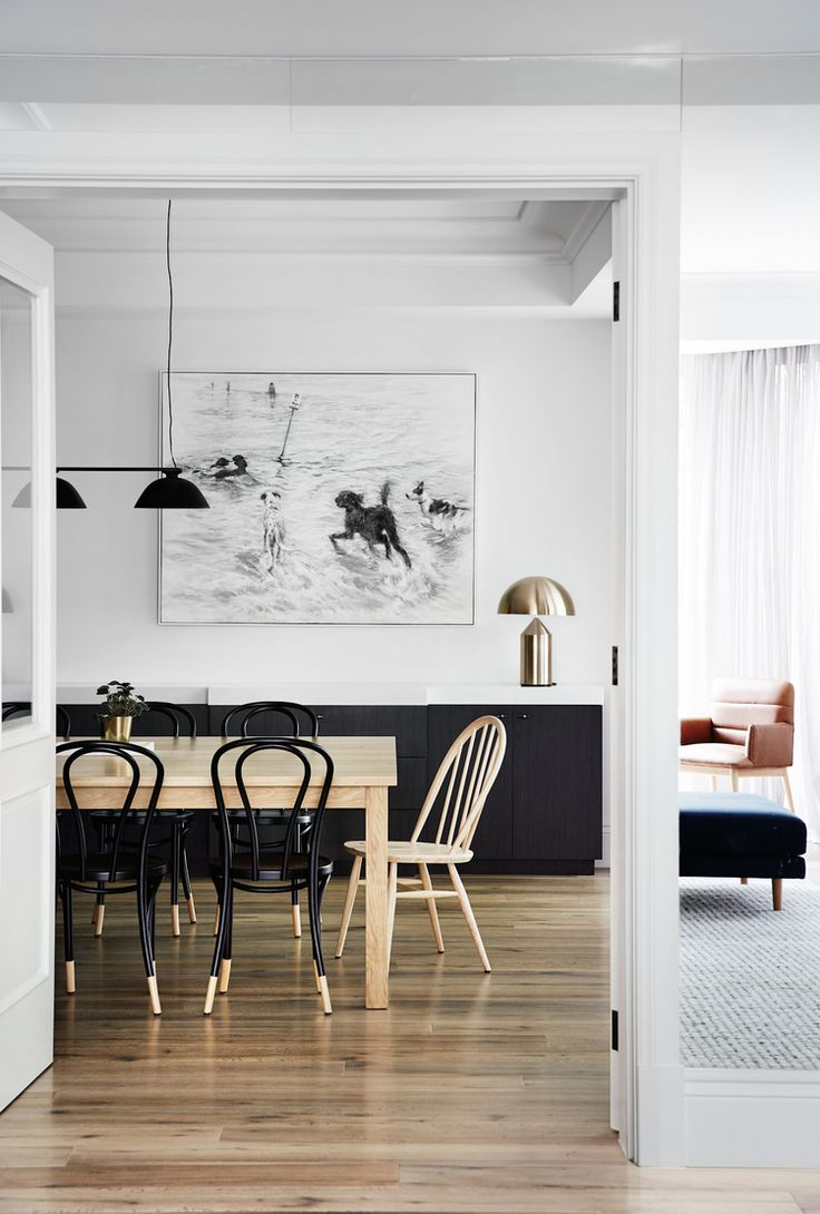 Looking for modern minimalist dining room design inspiration? These modern mix and match table and chairs pairings from room & board are the perfect!