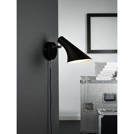 Nordlux Wandlamp Vanila - Zwart