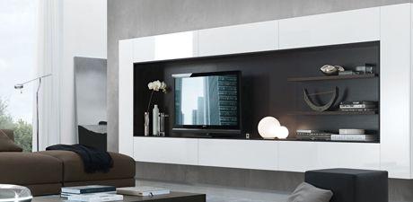 Open Wall Unit | Wall Units | Sklar Furnishings