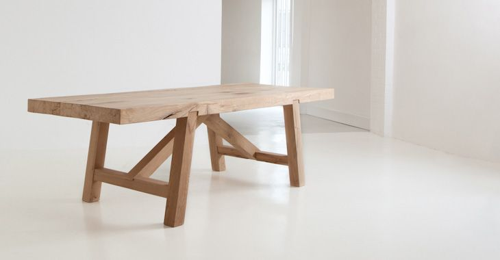 OSCAR TABLE OAK  Designed by Benchmark  w240 d92 h76cm  £3100