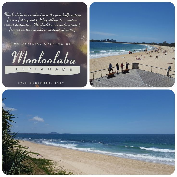 Just another beautiful day on the Sunshine Coast - Mooloolaba Beach just 10 mins from our beautiful Caravan Park!
