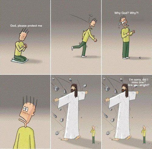A fun reminder that God's love is real AND ever-present! :)