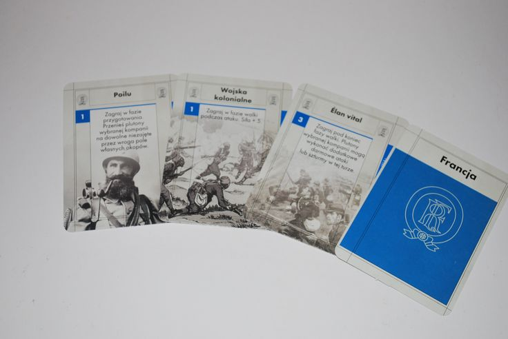 French Army cards in polish version