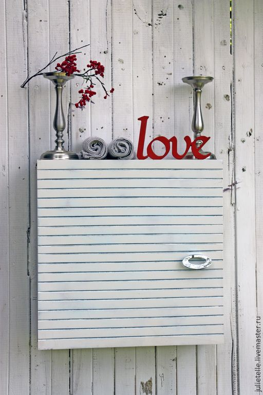 Купить Шкафчик для ванной комнаты - разноцветный, мебель в полоску, мебель для ванной, Шкафчик, хранение, ремонт