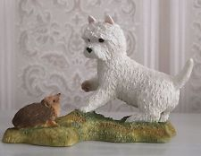 WESTIE WITH HEDGEHOG BY SHERRATT AND SIMPSON - PERFECT CONDITION