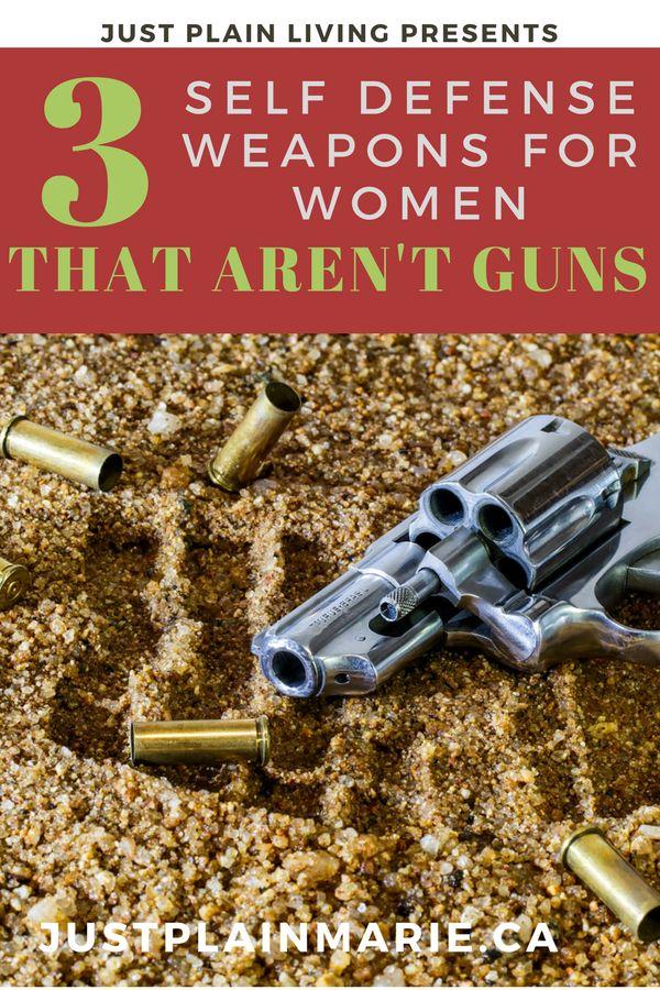 Self Defense Weapons for Women That Aren't Guns