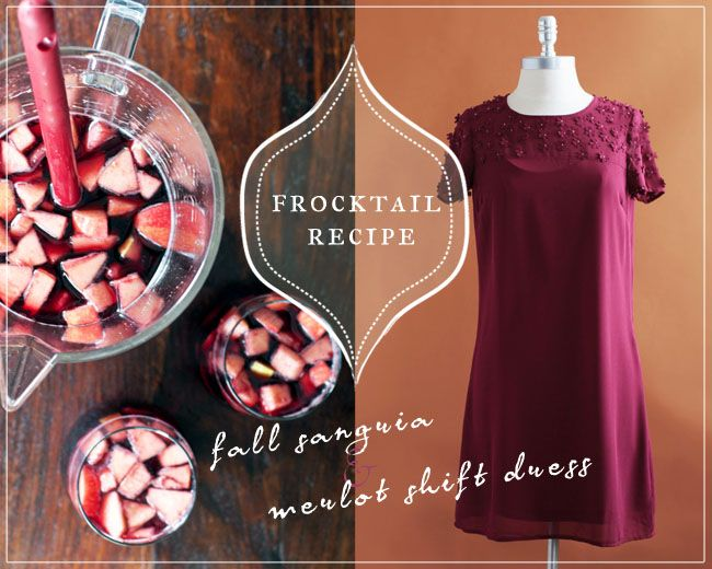 Friday Frocktails: Fall Sangria