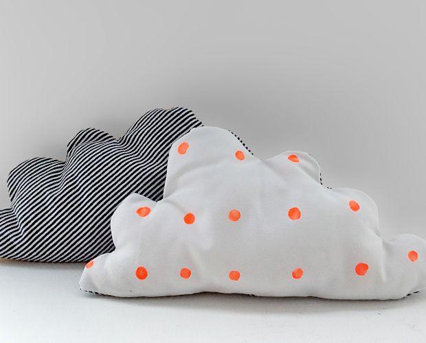 cloud pillow. surprisingly charming.