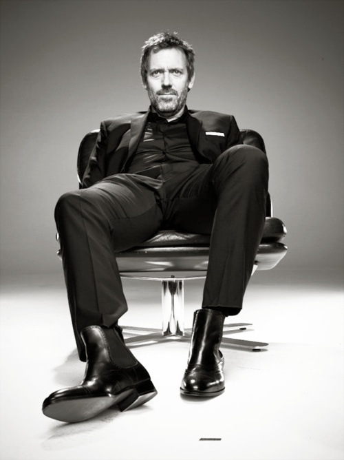 Well hello, Mr. Hugh Laurie