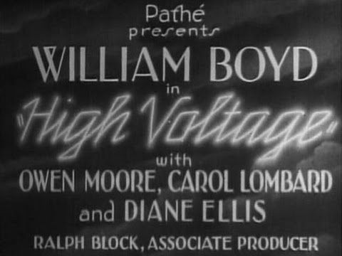 HIGH VOLTAGE (1929) Carole Lombard - William Boyd