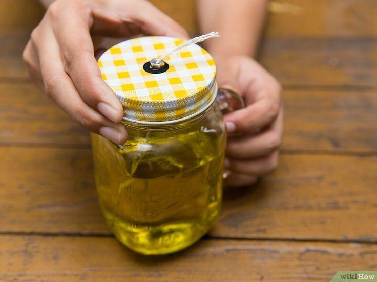 4 Formas De Hacer Una Lámpara De Aceite Oil Lamps Homemade Oil Diy Oils