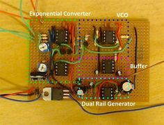 Homemade Exponential Voltage-Controlled Oscillator Uses Multiple LM358 Dual Op-Amps #MusicMonday