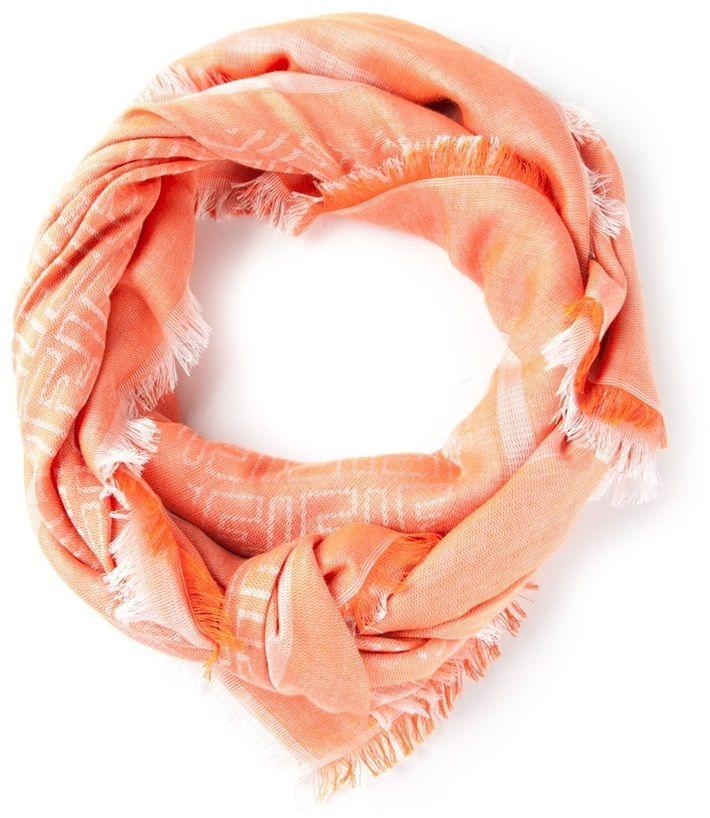 Fendi monogram scarf on shopstyle.com