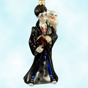 Polonaise by Komozja Harry Potter Hedwig Warner Brothers 2000 Christmas Ornament
