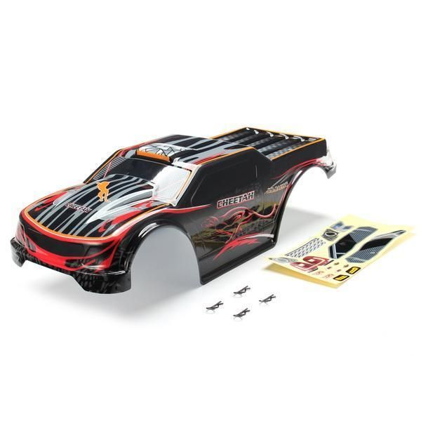 JLB Racing CHEETAH 1/10 Brushless RC Car Monster Trucks 11101 Car Shell #rcshells #rcshell #rckits #rctrucks #rctruckbody  | eBay