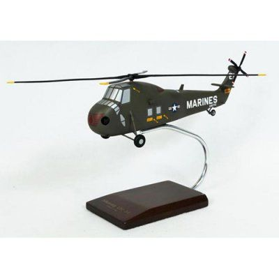 Daron Worldwide Sikorsky Aircraft UH-34D Sea Horse Model Airplane - HUH34DT