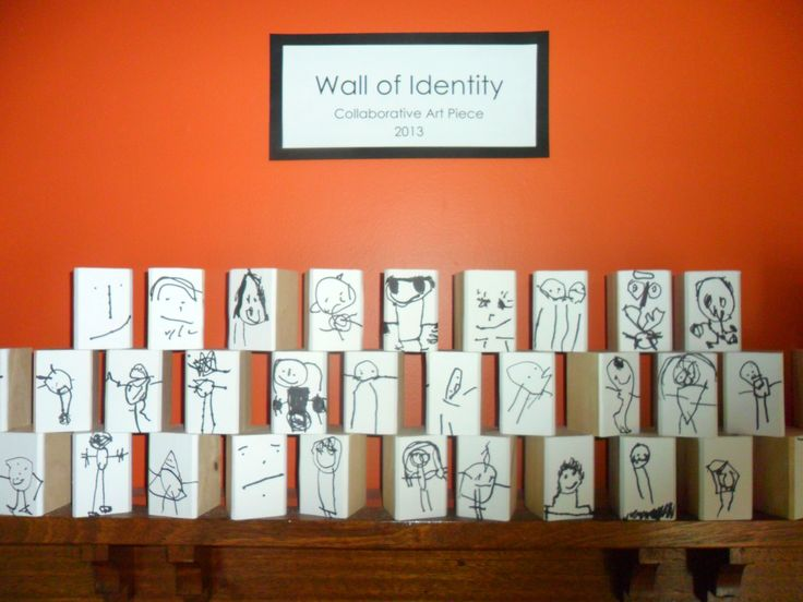 Identity Wall New Horizons Preschool Early Childhood