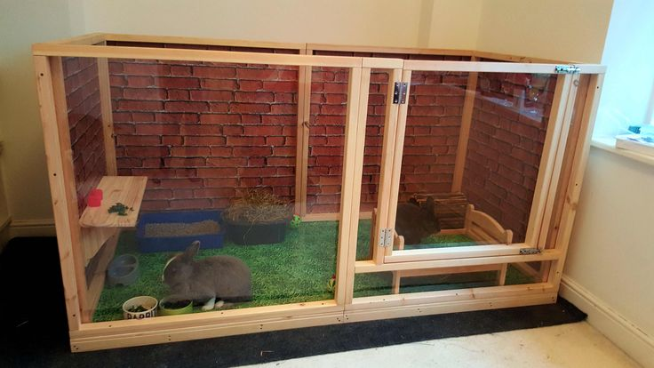 Indoor Rabbit Pen Handmade By Boyles Pet housing
