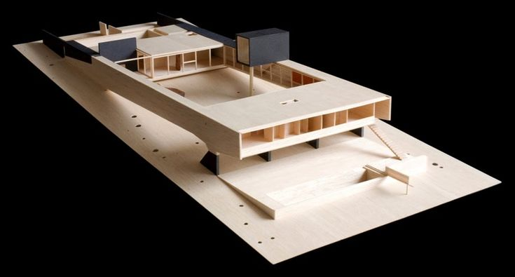 613 best images about arquitectura on pinterest le for Casa minimalista maqueta