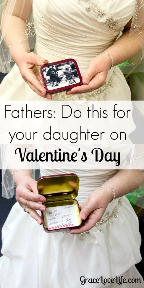 Fathers do this for your daughter on Valentine's Day