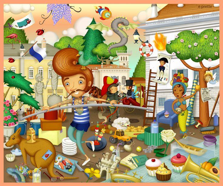 Kaleidos Junior - boardgame for kids -elena prette