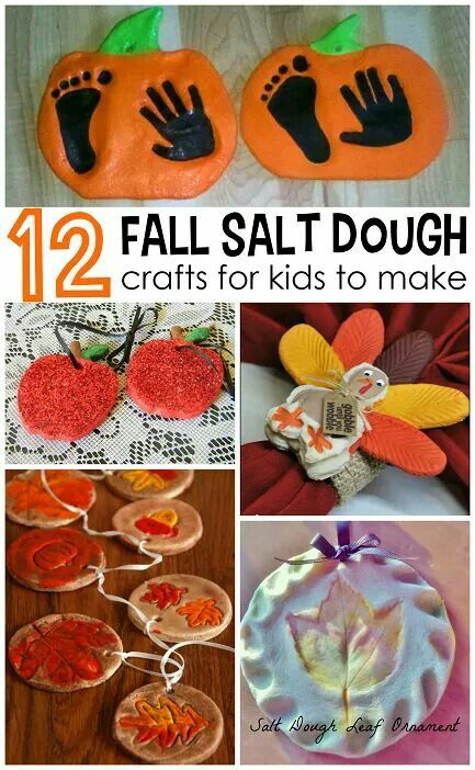 12 for salt dough craft for kids to make
