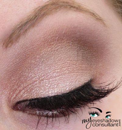 MAC eyeshadow: Naked Lunch, Saddle, Mystery, Vanilla