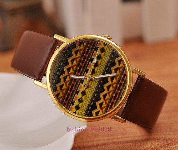 Watches Personality Wave grain operator watches by fashionlife2018