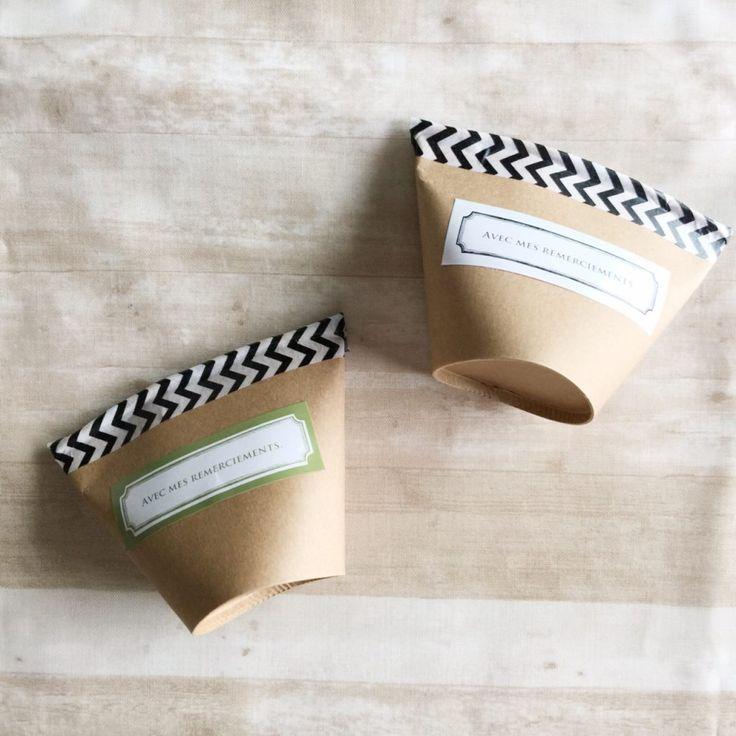 【100均素材】紙コップで簡単おしゃれなお菓子ラッピングの方法