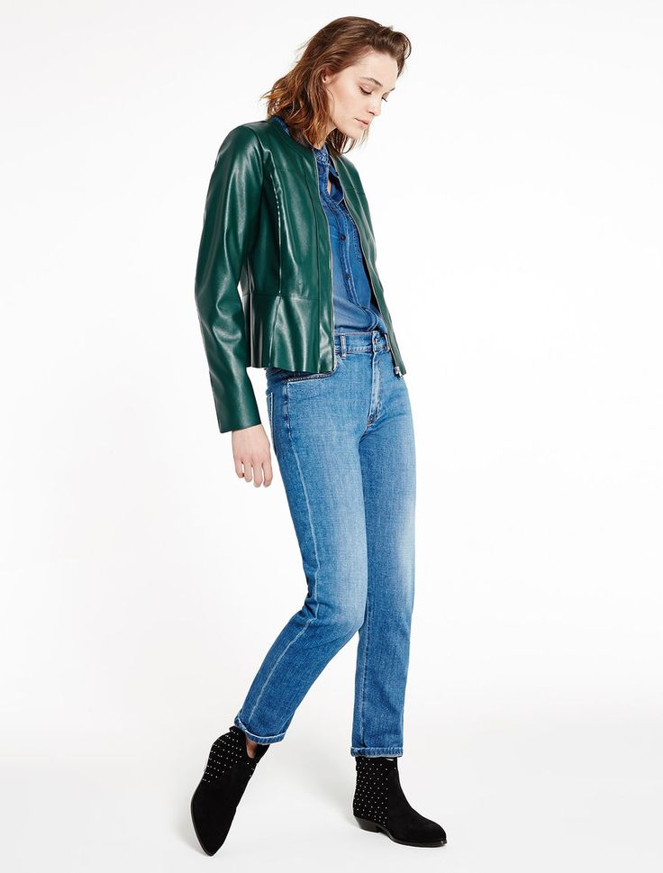 Leather effect jacket Marella