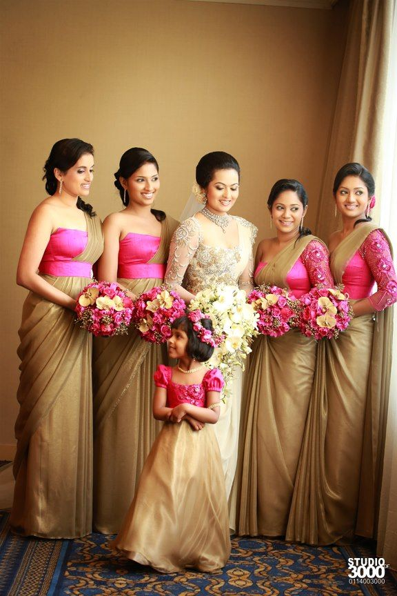 408 best images about sri lankan brides and bridesmaids on for Sri lankan wedding dress