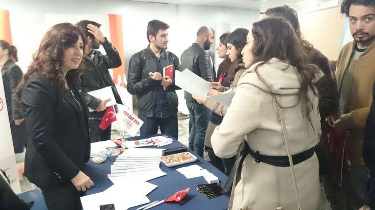 marmassistance olarak katıldığımız Yeditepe Üniveristesi - Kariyer Günlerinden kareler... www.marmassistance.com