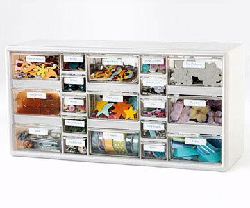 Turn a Nut-And-Bolt Storage Unit into an Embellishment Station Unit
