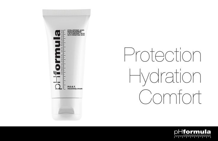 The P.O.S.T. resurfacing cream helps to protect the skin against moisture loss during the healing stages of the skin resurfacing procedure. The cream provides protection, hydration and comfort to extremely dry or sensitive skin. #skincare #Protection