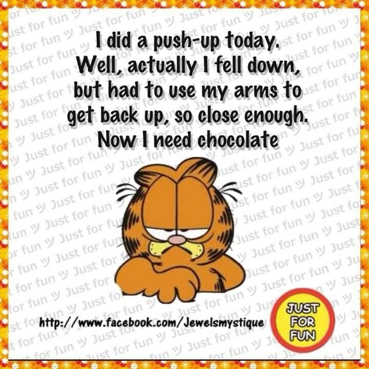 Garfield quote of the day