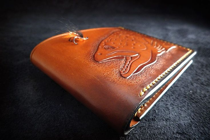 Trout Wallet – Stanescu Leathercraft