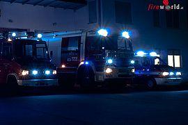 Deutschland: 2. Alarm: Brand im Chemiehochhaus der Universität Stuttgart