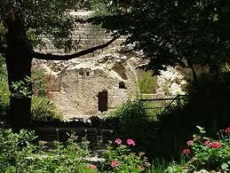 """The Garden Tomb"" in Jerusalem, Israel"