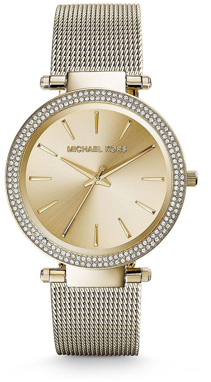Michael Kors Darci Gold Tone Stainless Steel Ladies Watch MK3368