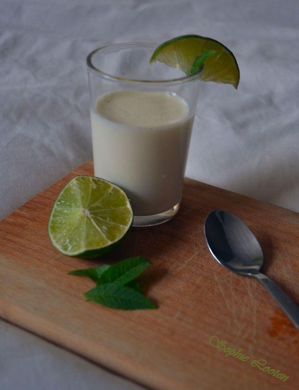 Panna cotta verveine-citron