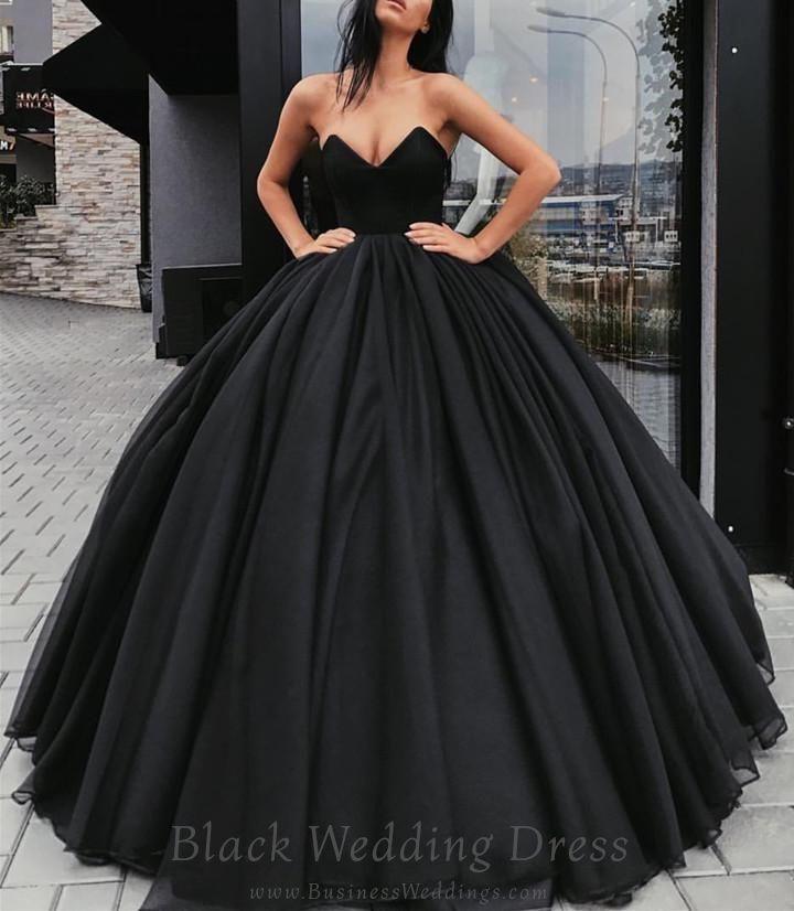 Pin On Black Wedding Dress