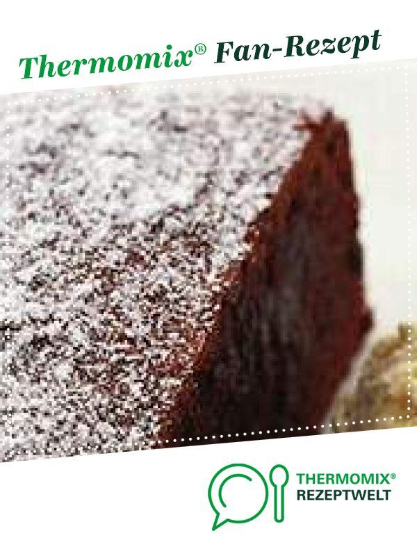 Mein heißgeliebter Schokokuchen von Tineoelles. Ein Thermomix ® Rezept aus der Kategorie Backen süß auf www.rezeptwelt.de, der Thermomix ® Community.