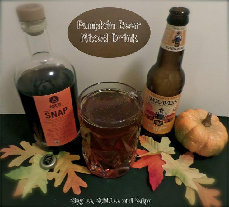 pumpkin beer mixed drink
