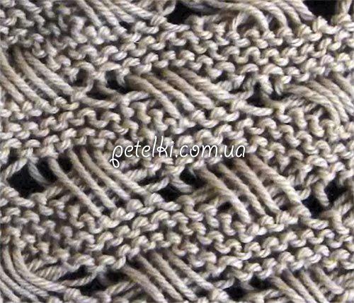 Узор спицами. Индийская вышивка крестом. Видеоурок