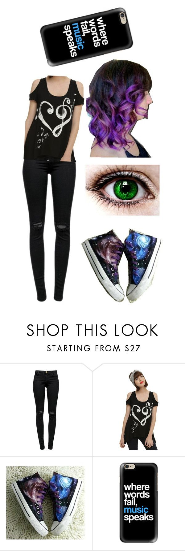 """""""Jillian """"Julie"""" Steele - OHSHC OC"""" by ss307 ❤ liked on Polyvore featuring J Brand, HVBAO, Casetify and plus size clothing"""